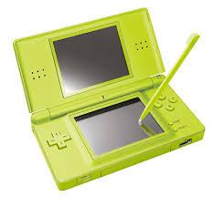 console nintendo ds lite console ds lite verte nintendo console de jeux portable achat