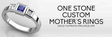 one mothers ring custom 1 mothers rings free shipping
