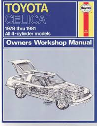 toyota celica owner u0027s workshop manual amazon co uk j h haynes