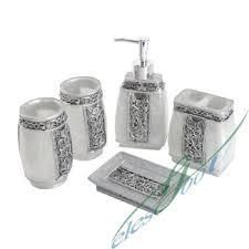 Blue Glass Bathroom Accessories 12 Beautiful Bathroom Accessory Sets Home Decor Ways