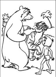 jungle book coloring pages kids printable free coloring