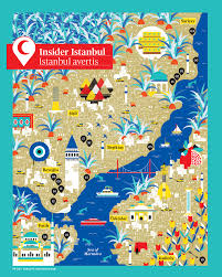 Istanbul World Map by Istanbul Map La Tigre