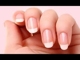 how to give yourself a manicure at home youtube