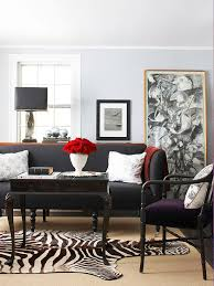 Grey And Black Chair Design Ideas Decorating With A Black Sofa Better Homes Gardens