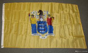Make A Flag Online New Jersey State Flag 90 X 150 Cm Polyester American Usa Us Banner