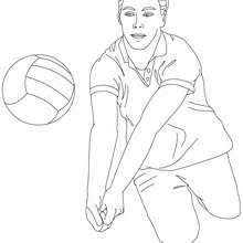 volleyball coloring pages coloring pages printable coloring