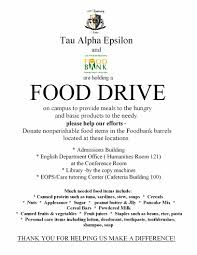 thanksgiving food drive items 9 best images of food drive flyer samples thanksgiving food