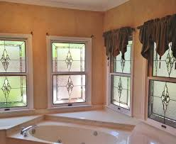 stained glass bathroom windows scottish stained glass san
