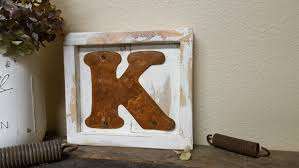 Family Wood Sign Home Decor Mini Letter Initial Sign Rustic Home Decor Pallet Board Sign