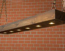 Wooden Light Fixtures Wood Light Fixture Etsy