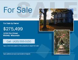 beautiful free for sale by owner fsbo flyer template flyers