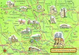 Map Of Yorkshire England by Yorkshire England U2013 Ripon And The Cathedral And Tykes On Bikes
