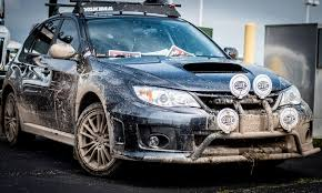 raised subaru impreza my modestly muddy wrx at the 2014 madison meet for hatchback hump