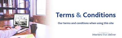 Terms Conditions Terms And Conditions Creed Interiors That Deliver