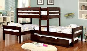 Twin Over Twin Bunk Beds With Trundle by 4 Twin Bed Ranford