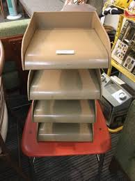 Vintage Desk Organizer Vintage Gw Systems Metal Desk Organizer