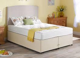 regatta pocket spring mattress and classic divan bed beige