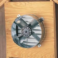 gable attic fan installation ventamatic cx2500ups cool attic power gable mount ventilator fan