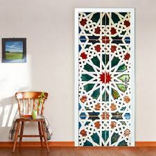 wall stickers uk wall art stickers kitchen wall stickers wddm015 12 pointed star door mural sticker