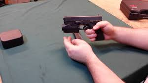 laser light combo for glock 22 glock tactical light and laser combo youtube