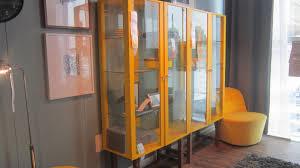 Ikea Stockholm Glass Door Cabinet Ikea Stockholm Glass Door Cabinet Yellow Seeshiningstars