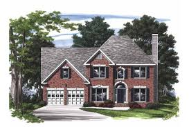 brick colonial house plans eplans colonial house plan impressive brick colonial 2154