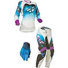 womens motocross gear packages dirt bike 2014 fly racing women s kinetic race combo motosport