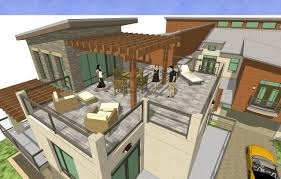 100 house plans with roof deck terrace rooftop terrace