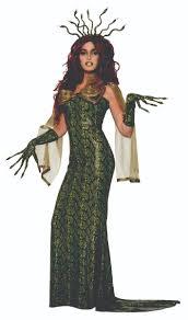 Medusa Halloween Costumes Women U0027s Medusa Costume Fancy Dress Snake Print Greek Goddess