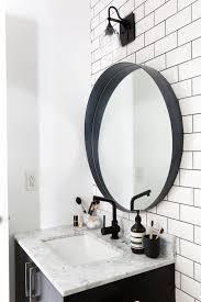 wonderful black bathroom mirror best 25 black bathroom mirrors