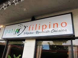 Patio Filipino Menu Pleasure Palate