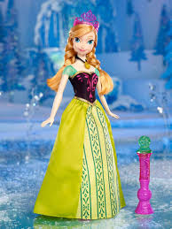 amazon disney frozen color change anna fashion doll toys u0026 games