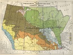 Canadian Provinces Map Map Of Prairie Provinces Showing Forest Belts 1936 Flickr