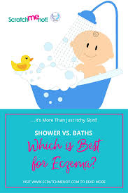 hot or cold what s the best bath to take not just itchy skin showers vs baths which is best for eczema