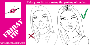 coloring pages magnificent draw hair easy coloring pages