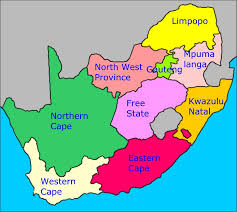map of south africa south africa s provinces