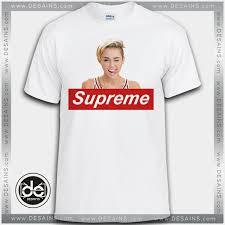 buy miley cyrus supreme tee shirt tshirt print womens mens size s
