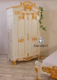 Chippendale Wohnzimmer Schrank Barock Schrank Weiß Gold Lionsstar Gmbh