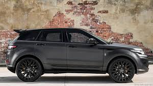 land rover black 2015 kahn tuning for the range rover evoque rs sport u2013 drive safe and fast