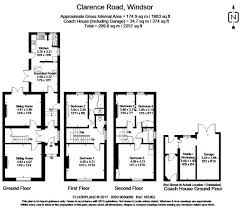 Clarence House Floor Plan by 4 Bedroom Semi Detached House For Sale In Windsor For Guide Price