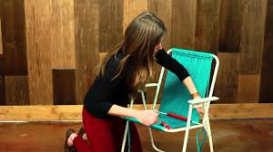 How To Build A Simple Rocking Chair How To Make A Macramé Chair Youtube
