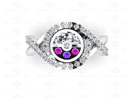 engagement rings sterling silver sapphire studios master amethyst pink sapphire