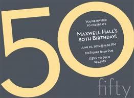 50th birthday invitations for him 50th birthday invitations for