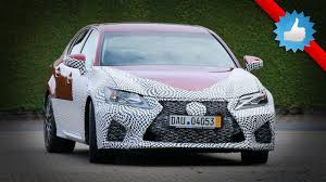 spied new lexus gs f 2016 lexus gs f spy shots 500 bhp youtube