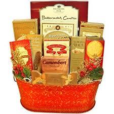 Food Gift Baskets Christmas - festive favorites christmas holiday gourmet food gift basket
