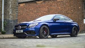 mercedes amg uk 2017 mercedes amg c63 s coupe uk spec front three quarter hd