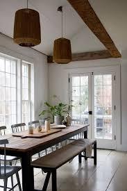 breathtaking dining room benches black steel leg beige tufted sofa