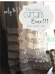 How To Make A Ruffled Valance Best 25 Drop Cloth Curtains Ideas On Pinterest Drop Cloths