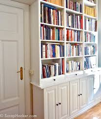 Kitchen Bookcases Transform Your Ikea Billy Bookcase With These 11 Fun Diy Projects