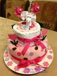 Diaper Cake Directions Marilyn U0027s Diaper Castle Elephant Diaper Cake